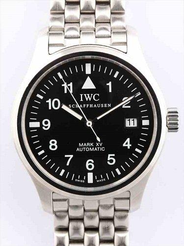 IWC パイロット・ウォッチ マークXV 黒文字盤