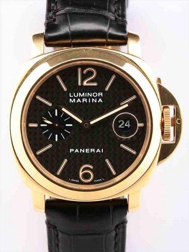 パネライ ルミノール マリーナ PAM00140 イエローゴールドモデル