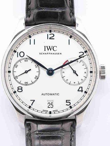 IWC ポルトギーゼ オートマティック 7デイズ IW500705 白文字盤