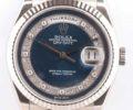 ロレックス デイデイト 118239MG K18WG ブルー×ミリヤードダイヤ文字盤
