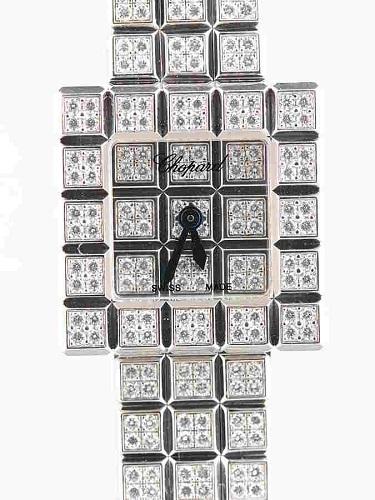 ショパール アイスキューブ 10/7003-20 フルダイヤ レディース