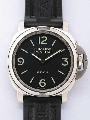 パネライ ルミノールベース 8デイズ アッチャイオ PAM00560 ブラックダイヤル