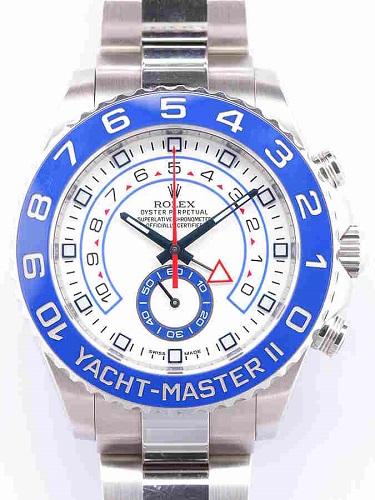 ロレックス ヨットマスターⅡ 116680 ランダム番 ホワイトダイヤル