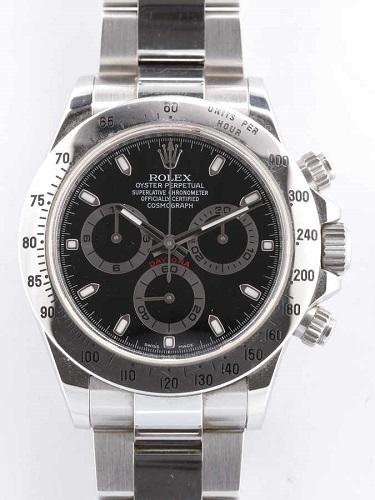 ロレックス デイトナ 116520 R番 ブラックダイヤル