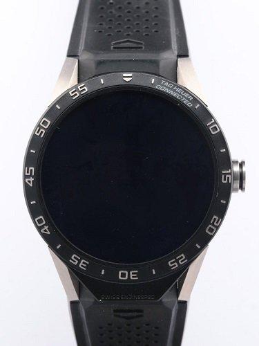 タグ・ホイヤー コネクテッド スマートウォッチ SAR8A80.FT6045 Ti/ラバー/QZ デジタル文字盤