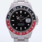 ロレックス GMTマスター Ⅱ 16710 SS AT 黒文字盤