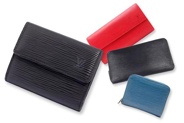 エレガントな財布エピは、ルイ・ヴィトンが誇る上質レザーが魅力