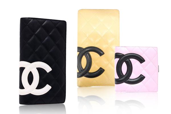 大きなココマークが可愛い!シャネル財布の定番カンボンライン