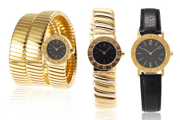 ブルガリブルガリは洗練されたデザインで男⼥ともに人気の時計