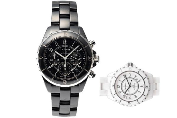 シャネル定番のユニセックス腕時計J12
