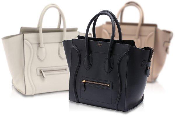 ファッショニスタの定番のIt bag、CELINE ラゲージ