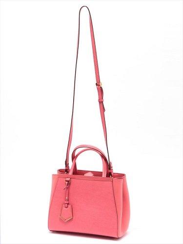 フェンディ プチ トゥージュール 2WAYバッグ ピンク色