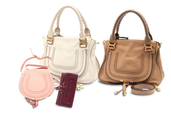 クロエの定番なら、バッグも財布もマーシーで決まり
