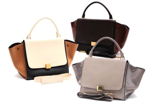 セリーヌの「トラペーズ」は年齢問わず愛される、都会的なワンハンドルバッグ