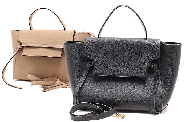 セリーヌのベルトバッグは洒落たデザインの大人バッグ