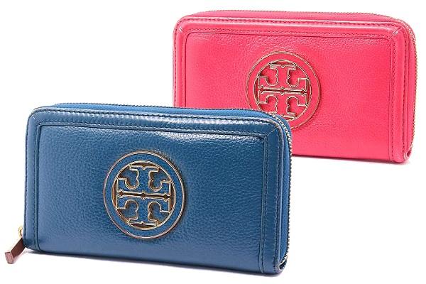 大きなロゴモチーフが可愛い! トリーバーチの財布といえば「アマンダ」