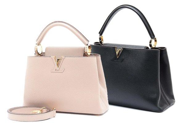 LVシグネチャーが魅力の「カプシーヌ」はルイ・ヴィトンのハンドバッグ