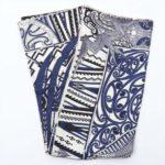 エルメス カレ90 「Kawa Ora(カワオラ)」 スカーフ シルク ブルー