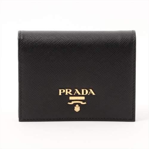 プラダ サフィアーノ マルティック 1MV204 レザー 財布 ブラック