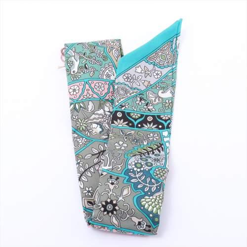 エルメス ツイリー 「Au Pays des Oiseaux Fleurs(花咲く鳥たちの国で)」 スカーフ シルク